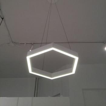 Светильник ALFA-HOLE-HEXA-1000