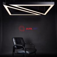 Дизайнерские светильники Alfa Hole Trio