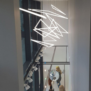 Светильник ALFA-HOLE-TRIO-400