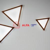 Дизайнерские светильники Alfa Trio