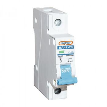 Автоматический выключатель ВА47-29 1P 10А (С) 6кА