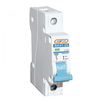 Автоматический выключатель ВА47-29 1P 40А (С) 6кА