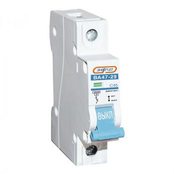 Автоматический выключатель ВА47-29 1P 63А (С) 4,5кА