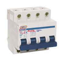 4 полюсные автоматические выключатели ВА 47-63