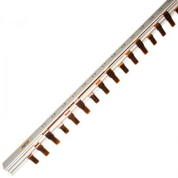 Шина соединительная PIN 3-фазная 100А (1м)