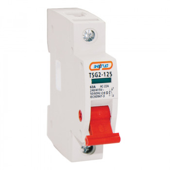 Выключатель нагрузки TSG2-125 1P 63A