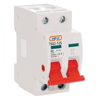 Выключатель нагрузки TSG2-125 2P 40A