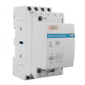 Модульный контактор КМ63/4P 20A 4HO (LCH8)