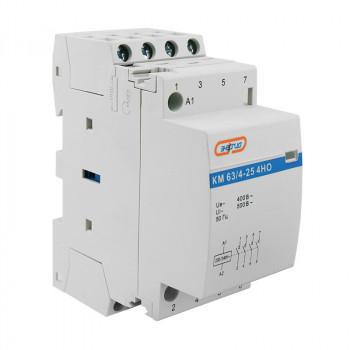 Модульный контактор КМ63/4P 25A 4HO (LCH8)
