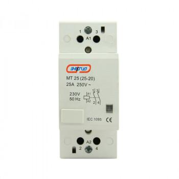 Модульный контактор MТ25 2P 25A