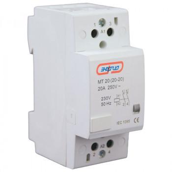 Модульный контактор MТ20 2P 20A