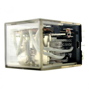 Реле промежуточное LY-4 10А 24DC 4пк