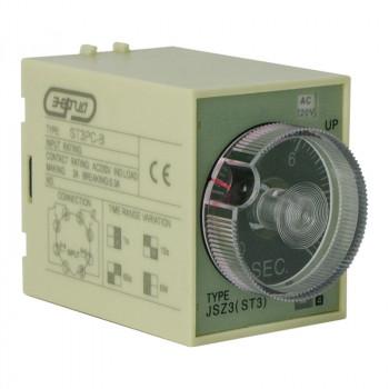 Pеле времени 220V ST3PC-B (0.1-1s/10s/60s/6 m)