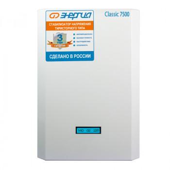 Стабилизатор ЭНЕРГИЯ 7500 ВА серии Classic