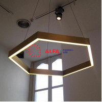 Фигурные профильные светодиодные светильники