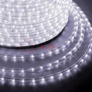 Дюралайт LED , постоянное свечение (2W) - белый, 36 LED/м, бухта 100м