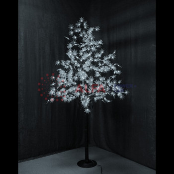 """Светодиодное дерево """"Клён"""", высота 2,1м, диаметр кроны 1,8м, белые светодиоды, IP 65"""