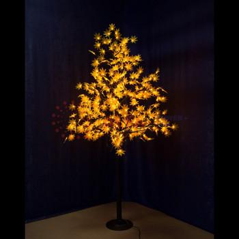 """Светодиодное дерево """"Клён"""", высота 2,1м, диаметр кроны 1,8м, желтые светодиоды, IP 65"""