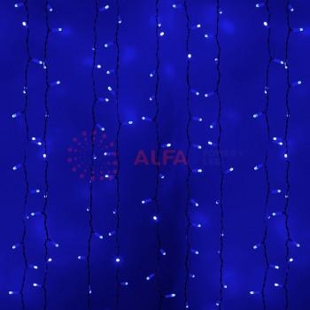 """""""Светодиодный Дождь"""" 2x3м, 230 В, диоды синие, 760 LED"""