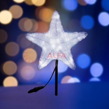"""Светодиодная фигура """"Звезда"""" 50см, 160 светодиодов, белая"""