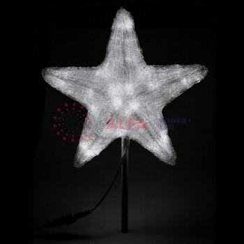"""Светодиодная фигура """"Звезда"""" 80см, 240 светодиодов, белая"""