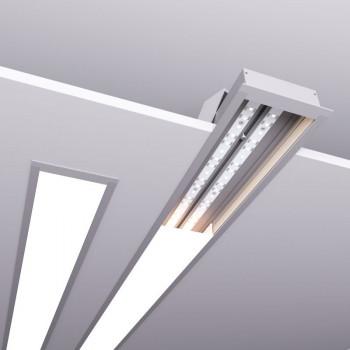 Светильник ALFA-8832-500 (500*88*32 мм 28 Вт встраиваемый)