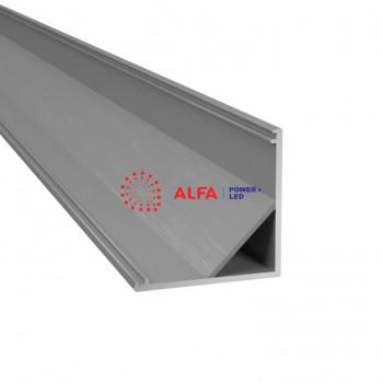 Анодированный алюминиевый профиль 3030 угловой