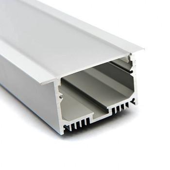 Анодированный алюминиевый профиль 6332 встраиваемый