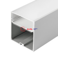 Подвесной/Накладной алюминиевый профиль