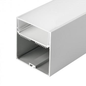 Анодированный алюминиевый профиль 7477 подвесной/накладной