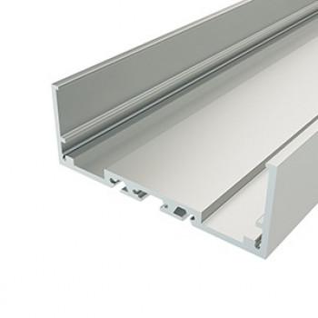 Анодированный алюминиевый профиль 7430 накладной