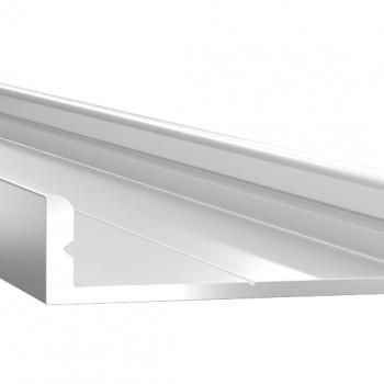 Анодированный алюминиевый профиль 0728 накладной