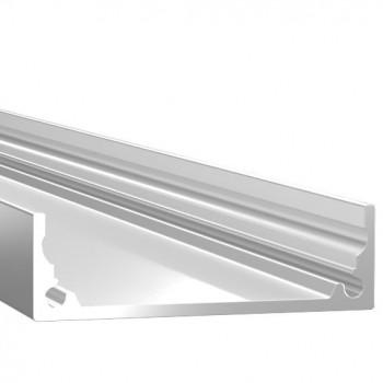 Анодированный алюминиевый профиль 1035 накладной