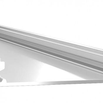Анодированный алюминиевый профиль 1050 накладной
