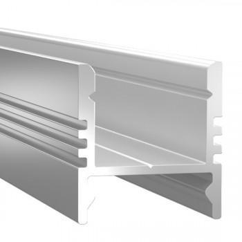 Анодированный алюминиевый профиль 1617 накладной