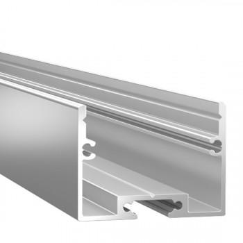 Анодированный алюминиевый профиль 2534 накладной