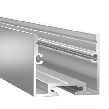Анодированный алюминиевый профиль 2528 подвесной/накладной