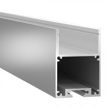 Анодированный алюминиевый профиль 4028 подвесной/накладной