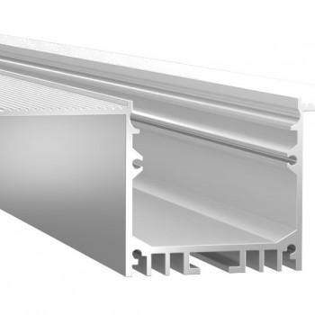 Анодированный алюминиевый профиль LINE 32 встраиваемый