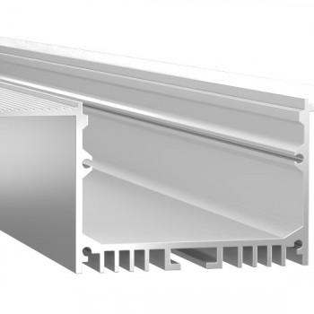 Анодированный алюминиевый профиль LINE 44 встраиваемый