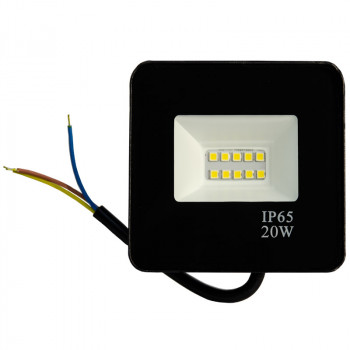 Прожектор LT-FL-01N-IP65- 20W-6500K LED
