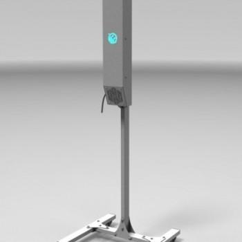 УФ рециркулятор-облучатель воздуха на стойке NEF-WORK